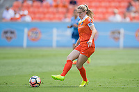 Houston, TX - Saturday May 13, Houston Dash forward Kealia Ohai (7) during a regular season National Women's Soccer League (NWSL) match between the Houston Dash and Sky Blue FC at BBVA Compass Stadium. Sky Blue won the game 3-1.