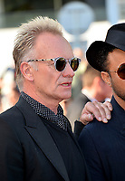 Sting at the closing gala screening for &quot;The Man Who Killed Don Quixote&quot; at the 71st Festival de Cannes, Cannes, France 19 May 2018<br /> Picture: Paul Smith/Featureflash/SilverHub 0208 004 5359 sales@silverhubmedia.com
