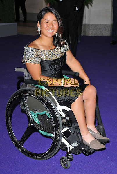 Yui Kamiji at the Wimbledon Champions Dinner, The Guildhall, Gresham Street, London, England, UK, on Sunday 10 July 2016.<br /> CAP/CAN<br /> &copy;CAN/Capital Pictures