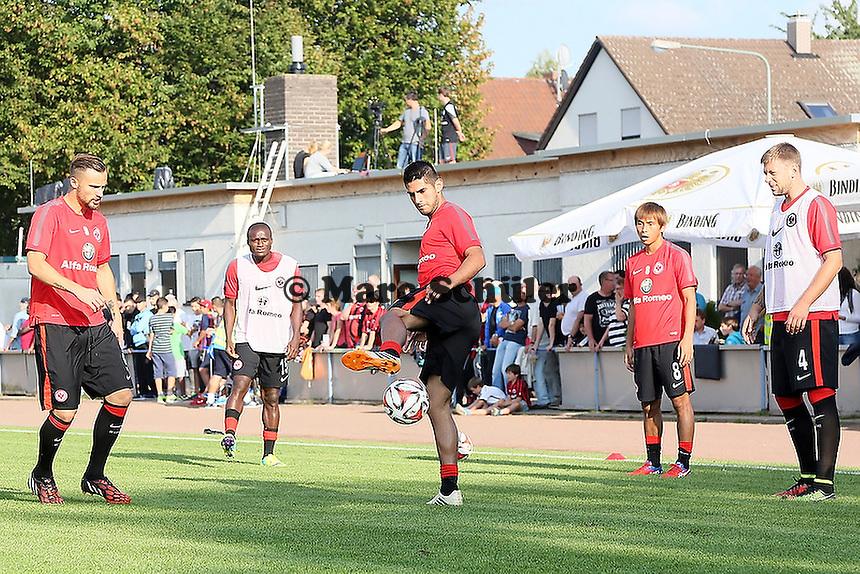 Carlos Zambrano (Eintracht) - VfB Unterliederbach vs. Eintracht Frankfurt