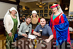 Enjoying the Tralee Medieval Group Table Quiz at the Imperial Hotel on Friday were Sonia Doubts, Fergal McGuinness, Janet King, Robert Tully and Helena Stackpoole