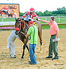 Showmeister winning at Delaware Park on 8/1/15