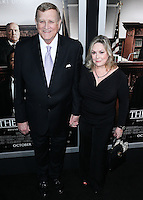 BEVERLY HILLS, CA, USA - OCTOBER 01: Ken Howard, Linda Howard arrive at the Los Angeles Premiere Of Warner Bros. Pictures And Village Roadshow Pictures' 'The Judge' held at the Samuel Goldwyn Theatre at The Academy of Motion Picture Arts and Sciences on October 1, 2014 in Beverly Hills, California, United States. (Photo by Xavier Collin/Celebrity Monitor)