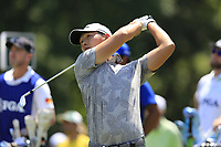 Danny Lee (NZL) tees off the par3 13th tee during Thursday's Round 1 of the 2017 PGA Championship held at Quail Hollow Golf Club, Charlotte, North Carolina, USA. 10th August 2017.<br /> Picture: Eoin Clarke | Golffile<br /> <br /> <br /> All photos usage must carry mandatory copyright credit (&copy; Golffile | Eoin Clarke)