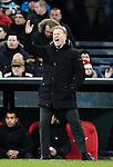 Nederland, Rotterdam, 23 december  2012.Eredivisie.Seizoen 2012/2013.Feyenoord-FC Groningen.Ronald Koeman, trainer-coach van Feyenoord in actie