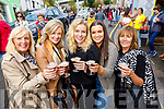 Sheila Kelly, Morna O'Halloran, Danielle O'Leary Karla Kelly and Noreen O'Leary, Tralee enjoying the Dingle Food Festival on Saturday last.