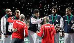 Tenis, Davis Cup 2010.Serbia Vs. France, final.Viktor Troicki Vs. Michael Llodra.Beograd, 05.12.2010..foto: Srdjan Stevanovic/Starsportphoto ©