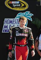 Nov. 16, 2008; Homestead, FL, USA; NASCAR Sprint Cup Series former champion Bill Elliott during the Ford 400 at Homestead Miami Speedway. Mandatory Credit: Mark J. Rebilas-