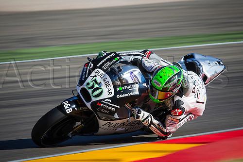 24.09.2016. Motorland Aragon, Alcaniz, Spain. MotoGP Grand Prix of Aragon. Qualifying.  Eugene Laverty (IRL), Pull & Bear Aspar Team rider,