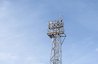 General view of the Stadium - Floodlight ahead of the Sky Bet League 2 match between Grimsby Town and Wycombe Wanderers at Blundell Park, Cleethorpes, England on 4 March 2017. Photo by Andy Rowland / PRiME Media Images.
