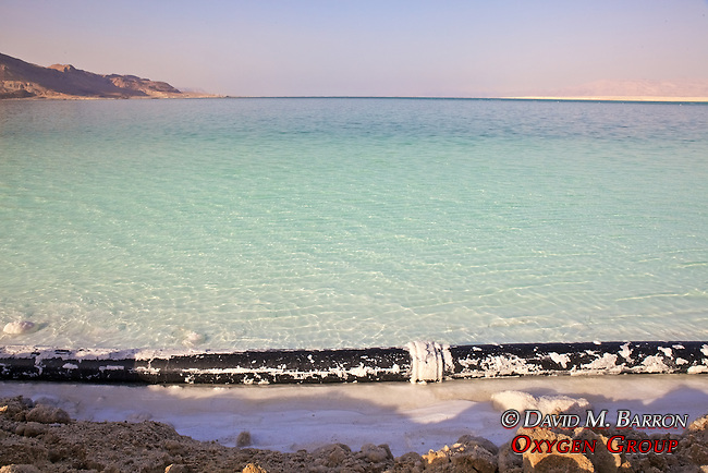 Water Pipe As Part Of The Dead Sea Salt Works