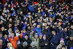 12.02.2020 Kilmarnock v Rangers: Rangers fans