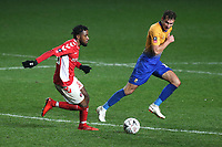 Tariqe Fosu of Charlton in action during Charlton Athletic vs Mansfield Town, Emirates FA Cup Football at The Valley on 20th November 2018