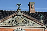 Fassade des barocken Schloss Bothmer, Mecklenburg-Vorpommern, Deutschland