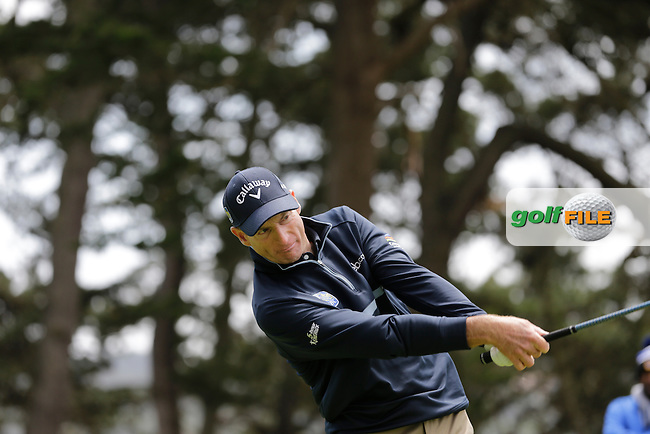 Jim Furyk (USA)  during the final round of the WGC Cadillac Matchplay championship, TPC Harding Park, 99 Harding Road, San Francisco, CA 94132, United States. 03/05/2015<br /> Picture Fran Caffrey, www.golffile.ie