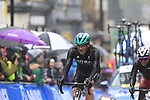 Riders including Shane Archbold (NZL) tackle the 9 laps of the Harrogate circuit during the Men Elite Road Race of the UCI World Championships 2019 running 261km from Leeds to Harrogate, England. 29th September 2019.<br /> Picture: Eoin Clarke | Cyclefile<br /> <br /> All photos usage must carry mandatory copyright credit (© Cyclefile | Eoin Clarke)