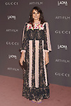 LOS ANGELES, CA - NOVEMBER 04: Actor Mia Maestro attends the 2017 LACMA Art + Film Gala Honoring Mark Bradford and George Lucas presented by Gucci at LACMA on November 4, 2017 in Los Angeles, California.
