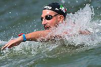 RUFFINI Simone ITA<br /> Hoorn, Netherlands <br /> LEN 2016 European Open Water Swimming Championships <br /> Open Water Swimming<br /> Men's 10km<br /> Day 01 10-07-2016<br /> Photo Giorgio Perottino/Deepbluemedia/Insidefoto