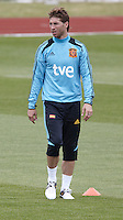 POLAND - Gniewino - 06 JUNE 2012 - Spain Training Session at Gniewino. Sergio Ramos with his new look.