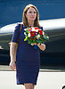19.07.2017; Berlin, Germany: REBECCA DEACON<br /> Kate Middleton's Lady-In_waiting on arrival at Teigel Airport, Berlin at the start of the royal tour of Germany.<br /> Mandatory Photo Credit: &copy;Francis Dias/NEWSPIX INTERNATIONAL<br /> <br /> IMMEDIATE CONFIRMATION OF USAGE REQUIRED:<br /> Newspix International, 31 Chinnery Hill, Bishop's Stortford, ENGLAND CM23 3PS<br /> Tel:+441279 324672  ; Fax: +441279656877<br /> Mobile:  07775681153<br /> e-mail: info@newspixinternational.co.uk<br /> Usage Implies Acceptance of OUr Terms &amp; Conditions<br /> Please refer to usage terms. All Fees Payable To Newspix International