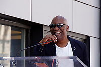 LOS ANGELES - JUN 12:  John Singleton at the Ice Cube Star Ceremony on the Hollywood Walk of Fame on June 12, 2017 in Los Angeles, CA