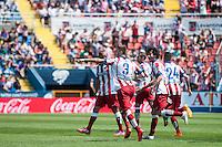 VALENCIA, SPAIN - MARCH 10: Siqueira during BBVA LEAGUE match between Levante U.D. Andr Atletico de Madrid at Ciudad de Valencia Stadium on March 10, 2015 in Valencia, Spain