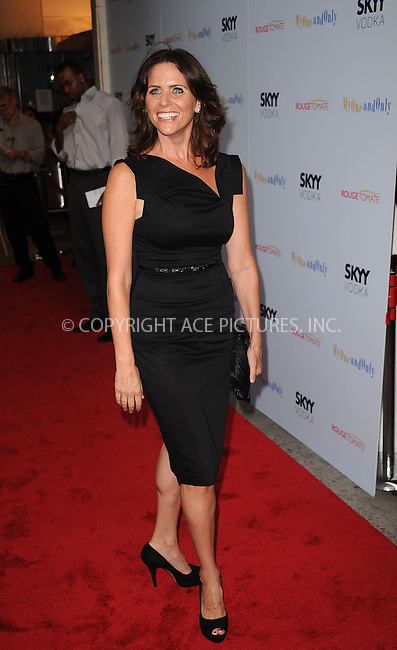 WWW.ACEPIXS.COM . . . . . ....August 19 2009, New York City....Amy Landecker arriving at the premiere of 'My One And Only' at the Paris Theatre on August 18, 2009 in New York City.....Please byline: KRISTIN CALLAHAN - ACEPIXS.COM.. . . . . . ..Ace Pictures, Inc:  ..tel: (212) 243 8787 or (646) 769 0430..e-mail: info@acepixs.com..web: http://www.acepixs.com
