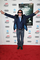 HOLLYWOOD, CA - NOVEMBER 12: Tommy Wiseau, at the AFI Fest 2017 Centerpiece Gala Presentation of The Disaster Artist on November 12, 2017 at the TCL Chinese Theatre in Hollywood, California. Credit: Faye Sadou/MediaPunch /NortePhoto.com