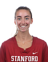 Stanford, CA - September 20, 2019: Taylor Scornavacco, Athlete and Staff Headshots