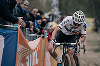 CX World Champion Sanne Cant (BEL/Iko-Beobank)<br /> <br /> Women's Elite race<br /> <br /> UCI cyclocross World Cup Koksijde / Belgium 2017