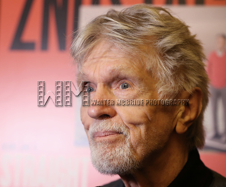 Tom Skerritt attends photo call for the Second Stage Theatre Company production of 'Straight White Men'  at Sardi's on June 14 30, 2018 in New York City.