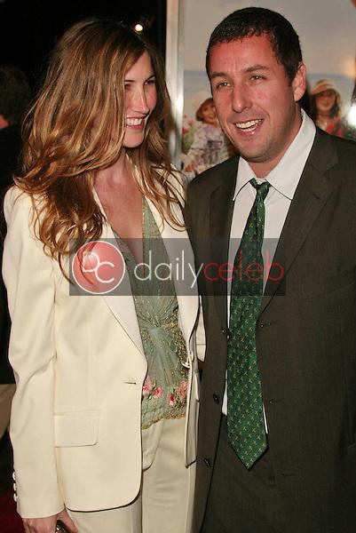 Adam Sandler and wife Jackie