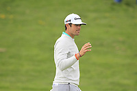 Nacho Elvira (ESP) on the 16th fairway during Round 4 of the Open de Espana 2018 at Centro Nacional de Golf on Sunday 15th April 2018.<br /> Picture:  Thos Caffrey / www.golffile.ie<br /> <br /> All photo usage must carry mandatory copyright credit (&copy; Golffile | Thos Caffrey)