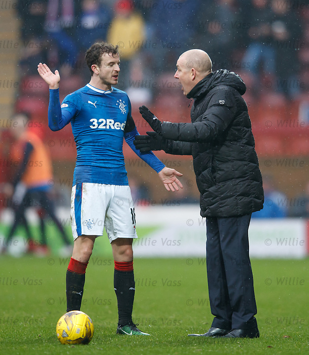 Mark Warburton and Andy Halliday discuss tactics after Motherwell even things up by going to 10 men