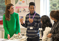 05 February 2019 - London - Kate Duchess of Cambridge Katherine Catherine Middleton during a visit to Alperton Community School. Photo Credit: ALPR/AdMedia