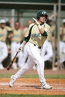 February 22, 2009:  Outfielder Stephen Hunt (9) of the University of South Florida during the Big East-Big Ten Challenge at Naimoli Complex in St. Petersburg, FL.  Photo by:  Mike Janes/Four Seam Images