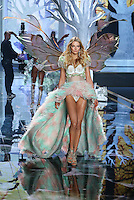 Eniko Mihalik on the runway at the Victoria's Secret Fashion Show 2014 London held at Earl's Court, London. 02/12/2014 Picture by: James Smith / Featureflash
