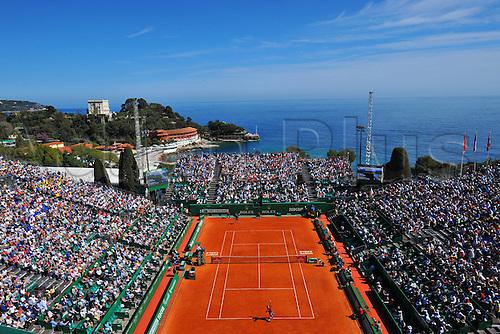 12.04.2016. Monte Carlo, Monaco. Monte Carlo ATP Tennis championships.  Monte Carlo Country Club