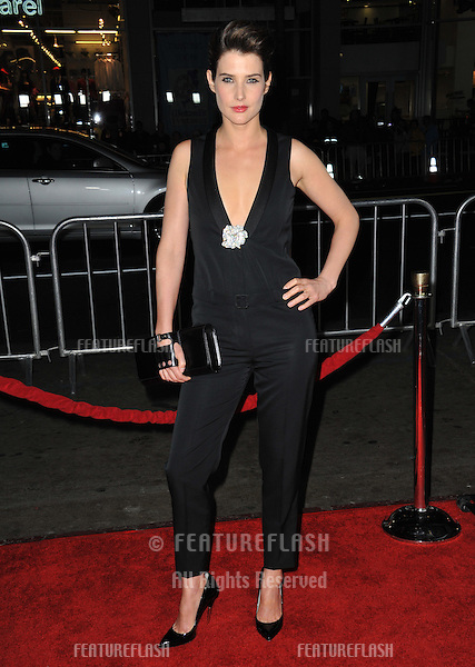 """Cobie Smulders at the premiere of her movie """"Safe Haven"""" at the Chinese Theatre, Hollywood..February 5, 2013  Los Angeles, CA.Picture: Paul Smith / Featureflash"""