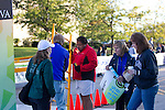The race has started and now preparations are made to receive the returning runners at the Quad Cities Marathon 2010.