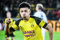 21.12.2018, xkvx, Fussball 1.Bundesliga, Borussia Dortmund - Borussia Moenchengladbach emspor, v.l. Torjubel, Goal celebration, celebrate the goal zum 1:0 durch Jadon Sancho (BVB Borussia Dortmund) (DFL/DFB REGULATIONS PROHIBIT ANY USE OF PHOTOGRAPHS as IMAGE SEQUENCES and/or QUASI-VIDEO) Dortmund *** 21 12 2018 xkvx Football 1 Bundesliga Borussia Dortmund Borussia Moenchengladbach emspor v l Goal celebration celebrate the goal to 1 0 by Jadon Sancho BVB Borussia Dortmund DFL DFB REGULATIONS PROHIBIT ANY USE OF PHOTOGRAPHS as IMAGE SEQUENCES and or QUASI VIDEO Dortmund  <br /> Foto Imago/Insidefoto