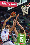 2014-09-06-Dominican Republic vs Slovenia: 61-71.