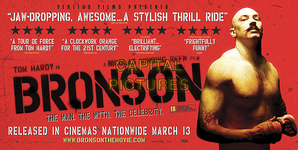 POSTER ART.in Bronson.*Filmstill - Editorial Use Only*.CAP/FB.Supplied by Capital Pictures.