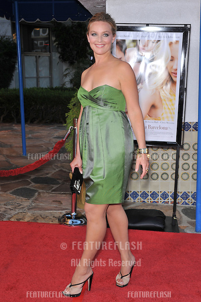 "Elisabeth Rohm at the Los Angeles premiere of ""Vicky Cristina Barcelona"" at the Mann Village Theatre, Westwood..August 4, 2008  Los Angeles, CA.Picture: Paul Smith / Featureflash"