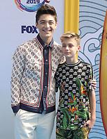 11 August 2019 - Hermosa Beach, California - Asher Angel, Avi Angel. FOX's Teen Choice Awards 2019 held at Hermosa Beach Pier. <br /> CAP/ADM/PMA<br /> ©PMA/ADM/Capital Pictures