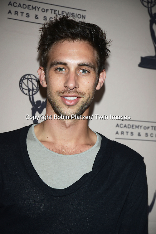 Blake Berris attend the Academy Of Television Arts & Science Daytime Programming  Peer Group Celebration for the 40th Annual Daytime Emmy Awards Nominees party on June 13, 2013 at the Montage Beverly Hills in Beverly Hills, California.