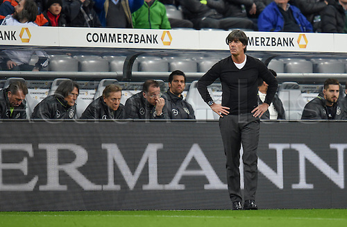 29.03.2016. Munich, Germany. International soccer match between Germany and Italy, at the Allianz Arena in Munich.   Trainer Joachim Loew (Ger)