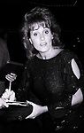 Lorna Luft attends ICAN Fundraiser Dinner on September 19, 1986 at the Beverly Hilton Hotel in Beverly Hills, California.