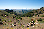 Antelope Pass at nearly 9,000 feet, Copper Basin East of Sun Valley, Idaho