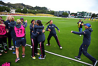160301 International Women's Cricket - NZ White Ferns v Australia